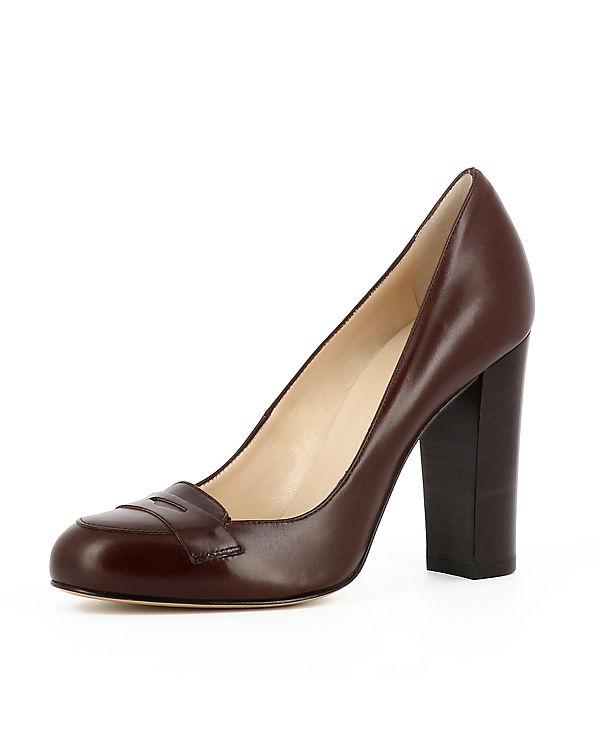 Evita Pumps CRISTINA dunkelbraun Klassische Shoes ZrwqvXr