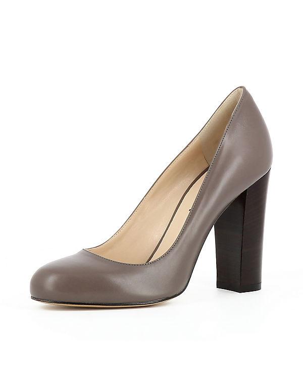 Evita Shoes, Klassische Klassische Shoes, Pumps CRISTINA, grau 4c8686
