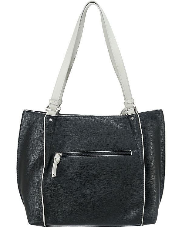 TOM TAILOR TOM TAILOR Tess Shopper schwarz
