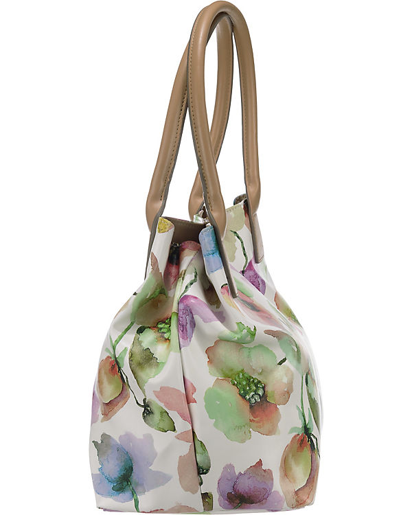 TOM TAILOR TOM TAILOR Miri Flora Shopper weiß