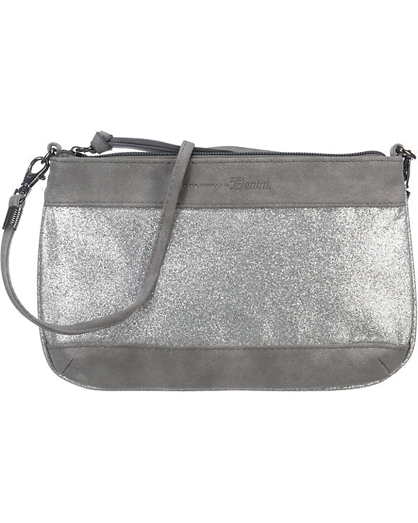 TOM TAILOR Denim TOM TAILOR Denim Tilda Abendtasche silber