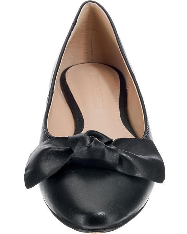 Klassische schwarz Ballerina Ballerinas Kala ESPRIT qSpHEE
