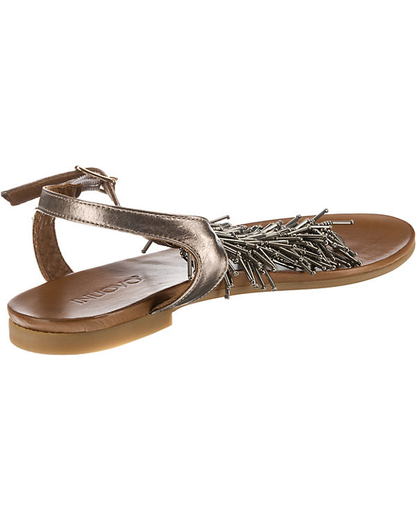 INUOVO INUOVO Riemchensandalen INUOVO gold gold Riemchensandalen gold Riemchensandalen INUOVO OqPUP6n
