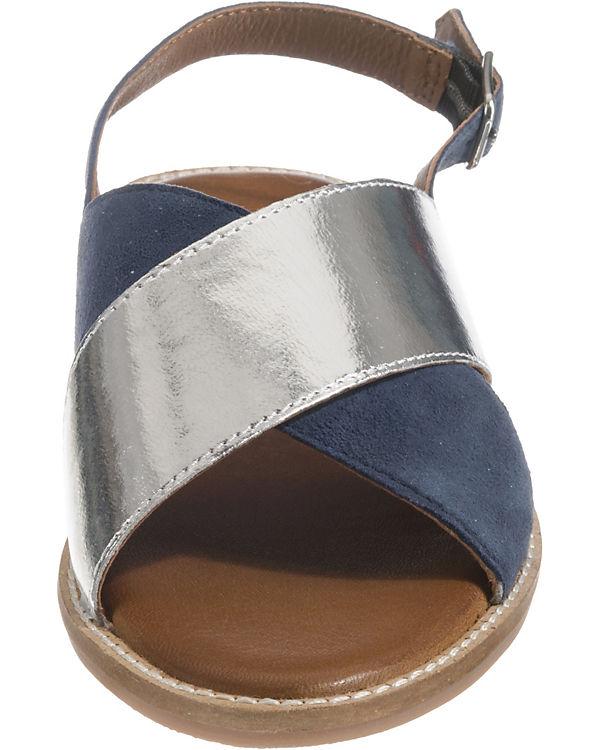 Sandalen silber INUOVO Klassische INUOVO Klassische blau 1vtXa
