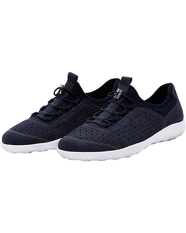 Soft Sneakers remonte Low Lite n R3500 blau F0wwq4tax