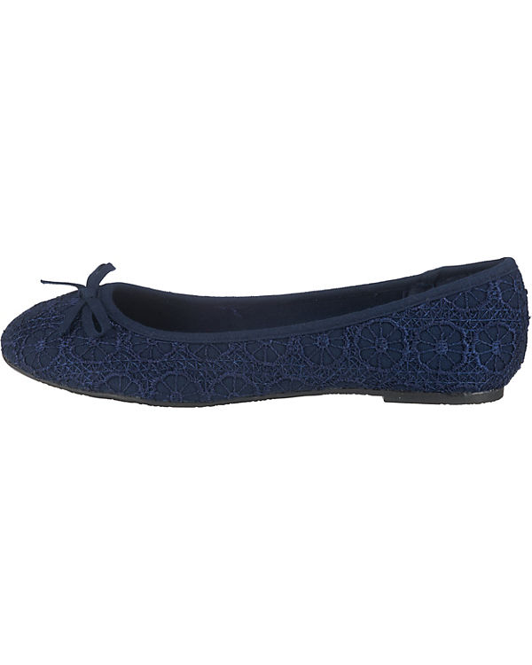 15UX1 blau Ballerinas Klassische Anna 3165 Field xqIXw15