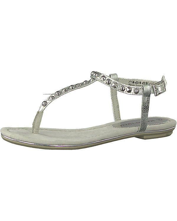 MARCO silber Sandalen TOZZI TOZZI Klassische MARCO Sandalen silber Klassische px5q8w7BR