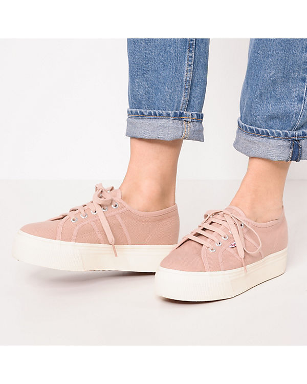 Superga®, 2790-Acotw Linea Up Low, and Down Sneakers Low, Up rosa bdf64f