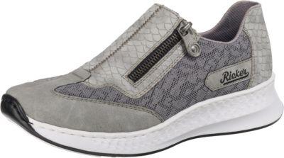 rieker NamibiaAntakyaEchsebuk Sneakers Low grau Günstige
