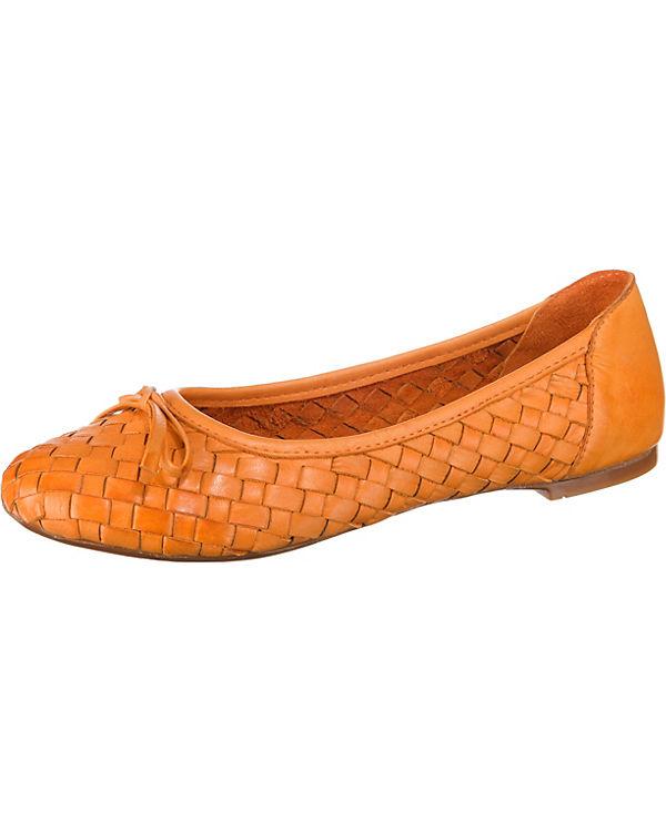 Andrea Conti Klassische Ballerinas orange
