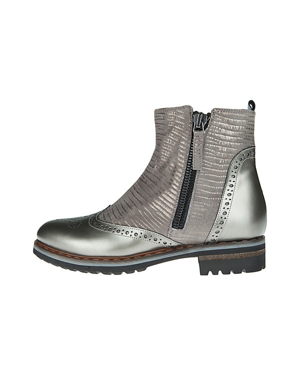 Donna Carolina Chelsea Boots silber