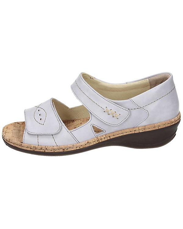 Comfortabel Klassische Sandalen grau