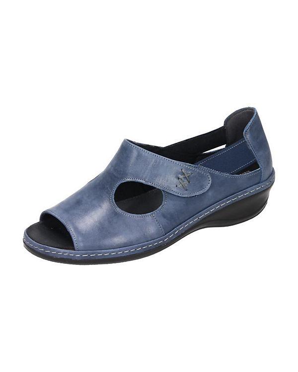 Comfortabel Klassische Sandalen blau