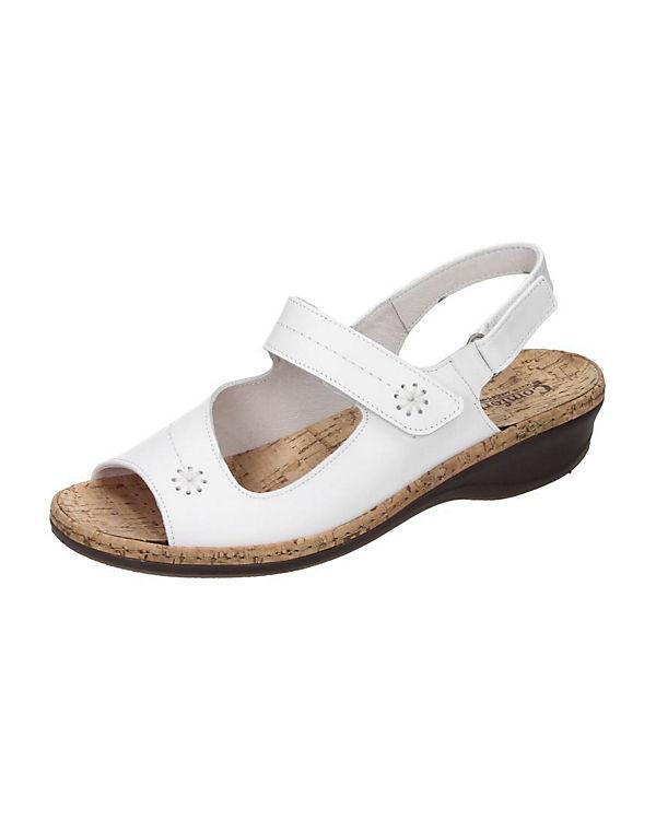 Comfortabel Klassische Sandalen weiß