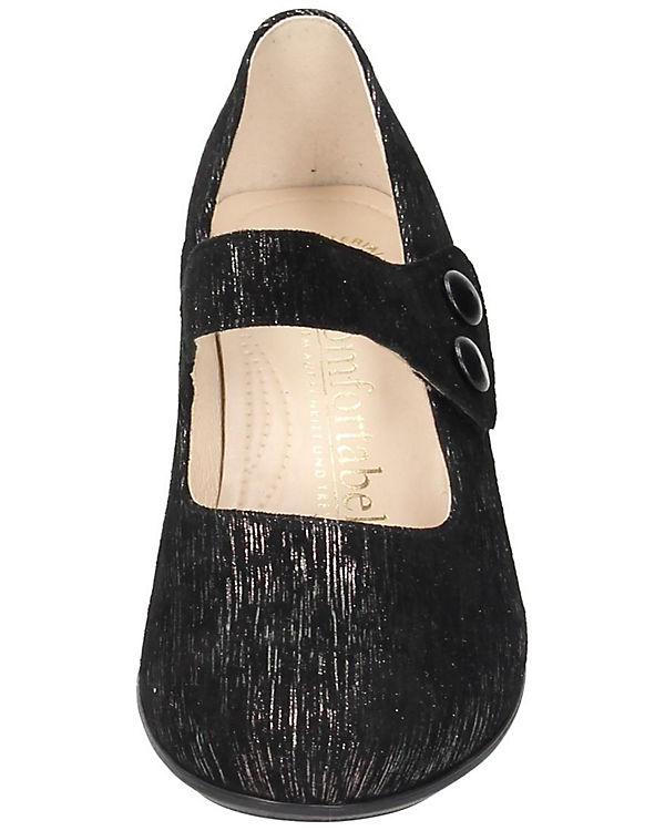 Comfortabel Spangenpumps Spangenpumps schwarz Spangenpumps Comfortabel schwarz Comfortabel 0Uqp6O