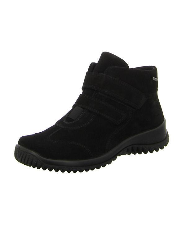 Legero Komfort-Halbschuhe schwarz