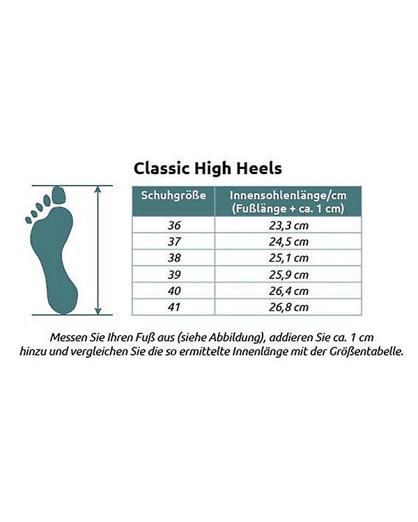 attack High Shoes ufo Heels Pumps Klassische 2 mehrfarbig Dogo C1HTqw