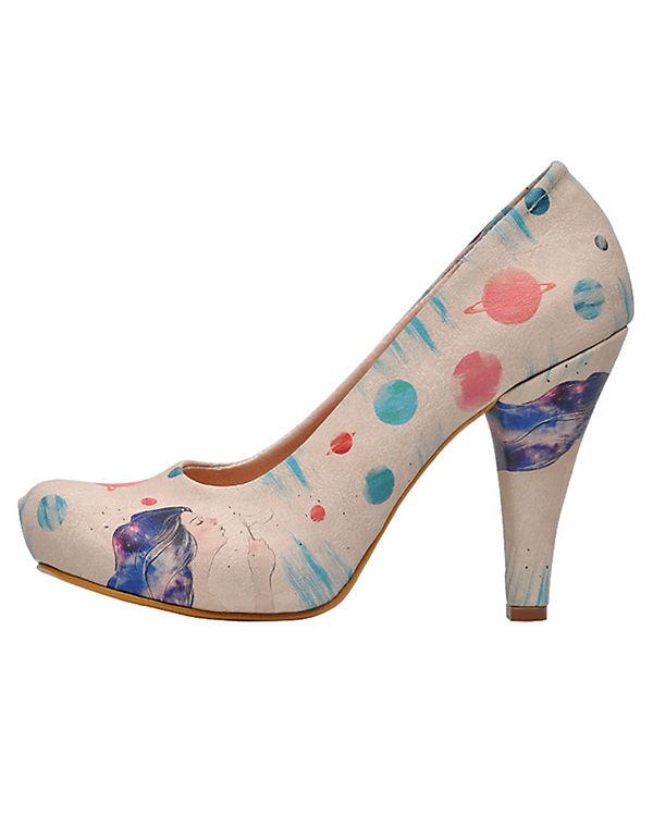 Pumps Dogo galaxy Heels Shoes hair mehrfarbig High Klassische 4FxFEw7nqf