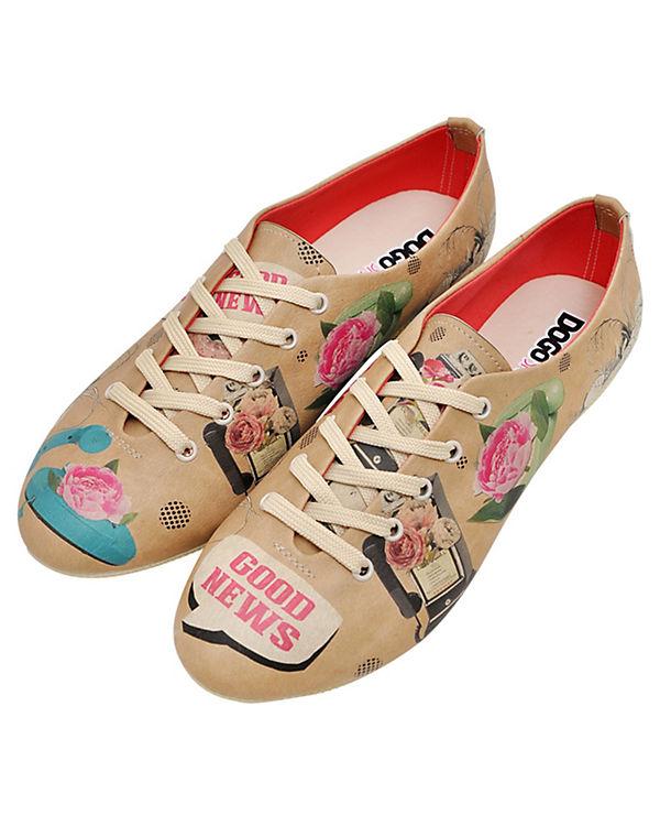 Dogo Shoes Sportliche Halbschuhe Oxford I've Got Good News mehrfarbig