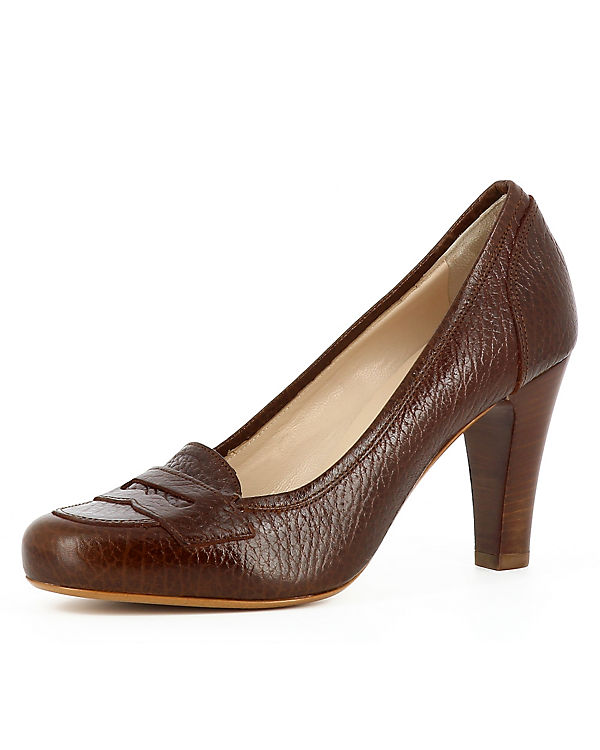 Pumps MARIA Klassische Evita Shoes braun w6TxF