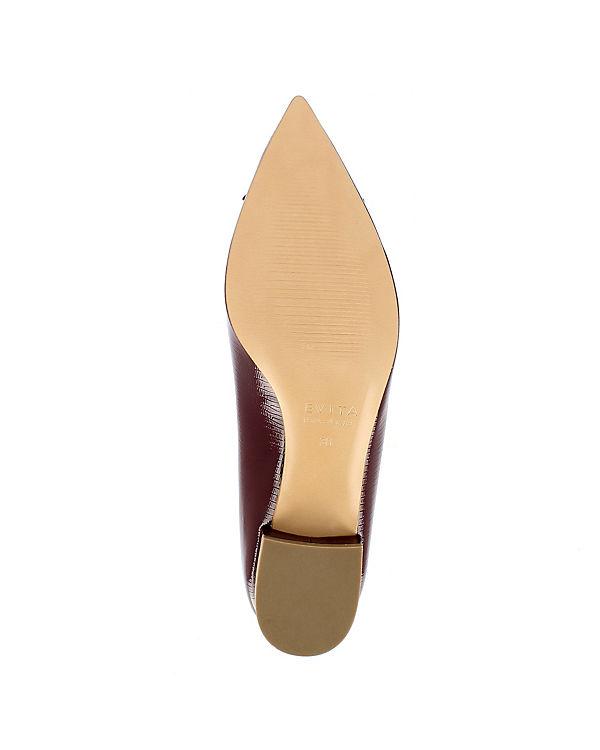 bordeaux Pumps FRANCA Shoes Klassische Evita qOfwpaI