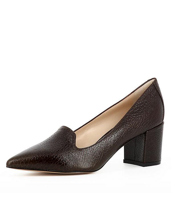 Klassische Shoes dunkelbraun Pumps Evita ROMINA 1gS5Kq