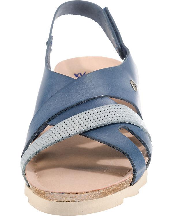 Wanda blau Nataly Panda kombi Komfort Sandalen w1Zz71qgf