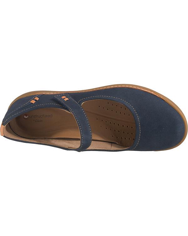 Komfort blau UnHaven Komfort Ballerinas UnHaven Clarks Clarks UnHaven Ballerinas Komfort Clarks blau dqtft