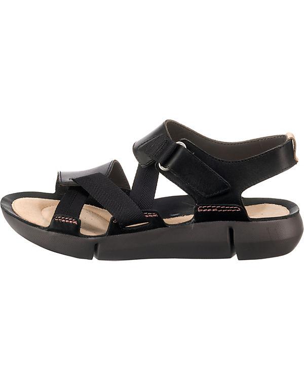 TriClover Clarks Komfort Sandalen schwarz TriClover Clarks Evw7v