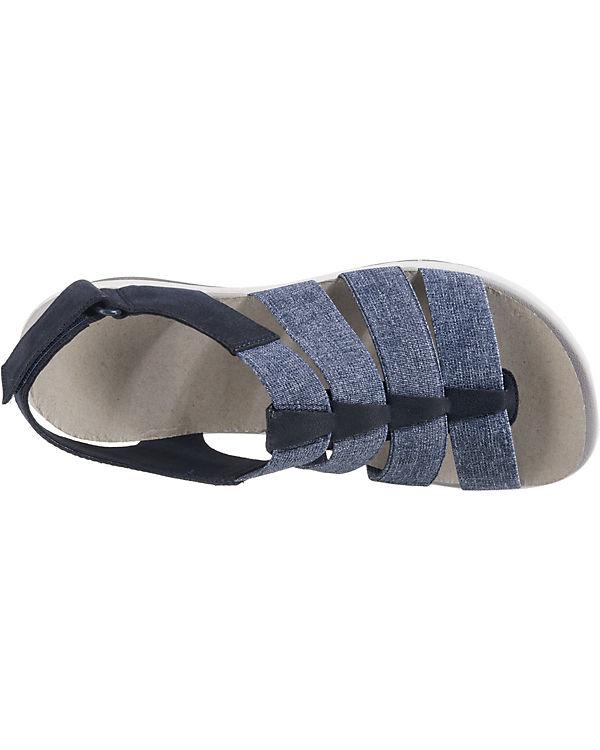 Klassische Clarks blau kombi ArlaShaylie Sandaletten qaU4XxU