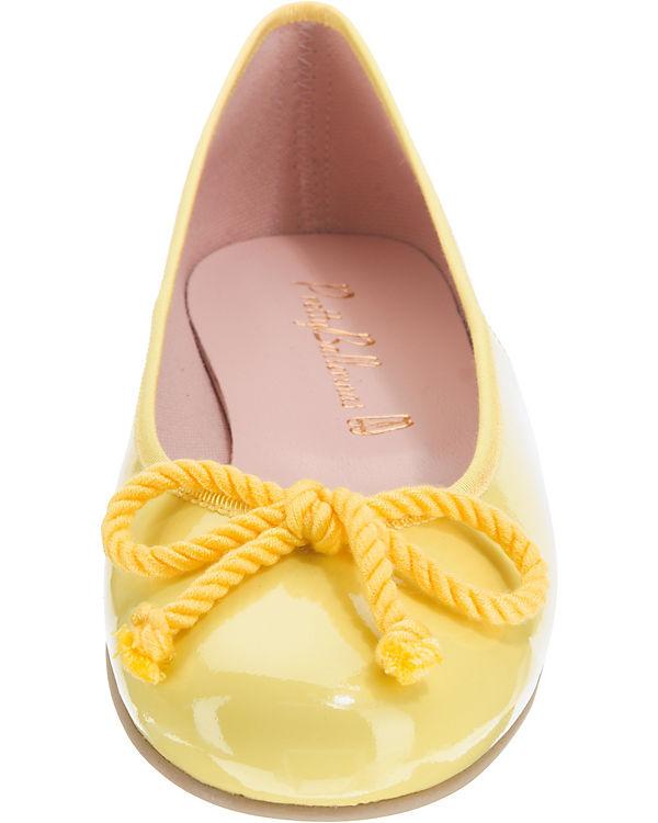 Pretty Ballerinas, Klassische Ballerinas, gelb gelb gelb bef483