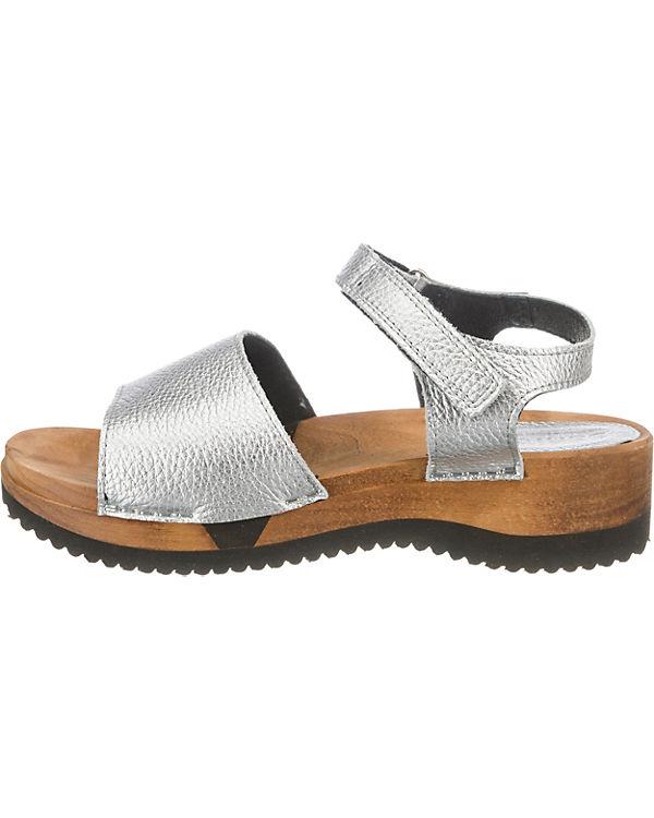 Sanita Klassische Sandalen silber