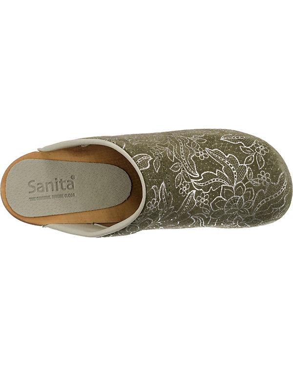 kombi Sanita Komfort Komfort Sanita grau Pantoletten Pantoletten U0U847Y