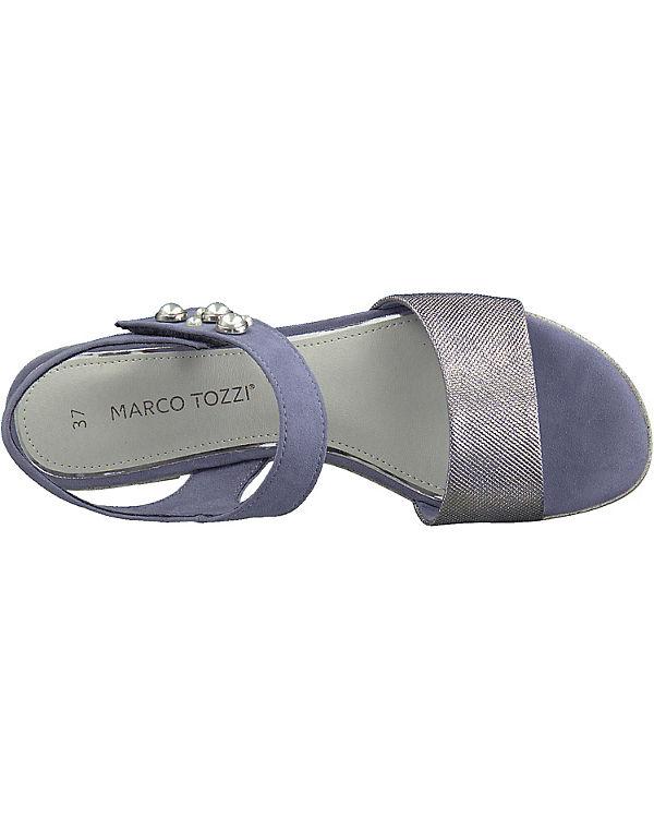 TOZZI lila Sandalen Klassische MARCO MARCO TOZZI Klassische wnFqa7xz