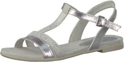 Marco Tozzi Zehentrenner-Sandalette Größe 40 Silver 5l61WXr