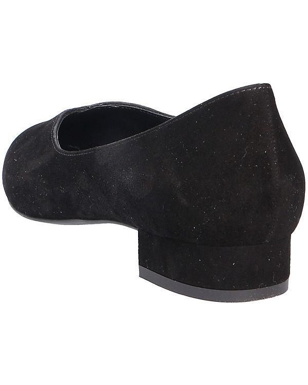 Paul Green Klassische Ballerinas schwarz