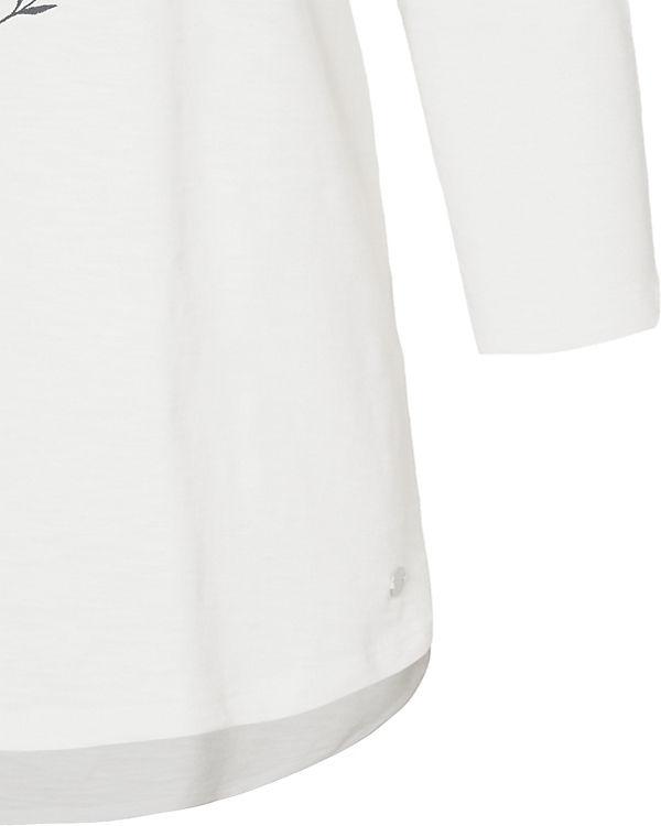 3 Shirt Arm ESPRIT 4 weiß 8Rgqw0xn