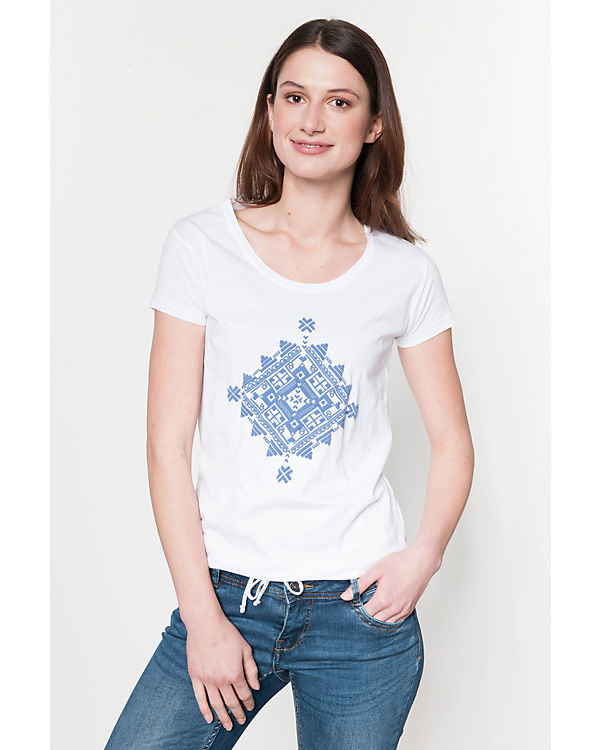 Shirt blue weiß Shirt blue T blue T Shirt T Shirt weiß weiß T blue TAwYqn84