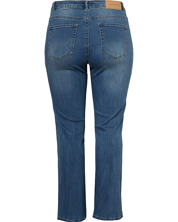 Jeans denim Straight denim blue blue JUNAROSE Straight Jeans JUNAROSE CAqq5SwgX