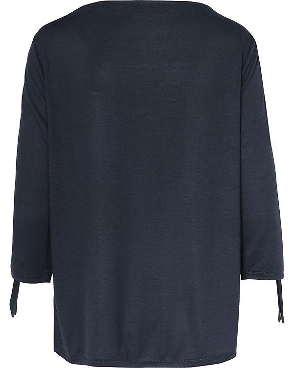 Auslass Sneakernews Real Für Verkauf s.Oliver 3/4-Arm-Shirt blau Günstig Kaufen Finish 12XkNqD
