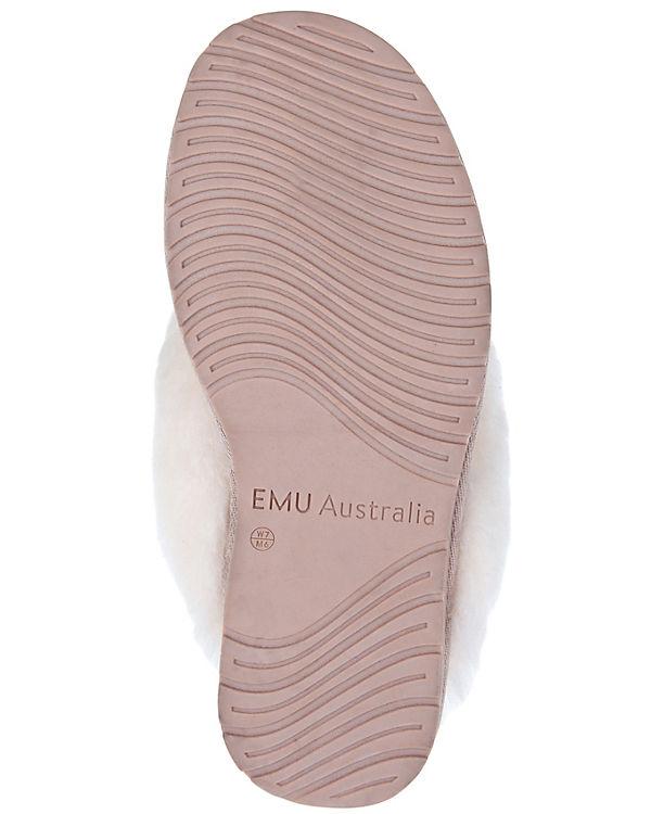 METALLIC rosa Hausschuhe EMU Australia JOLIE g4qzRnp