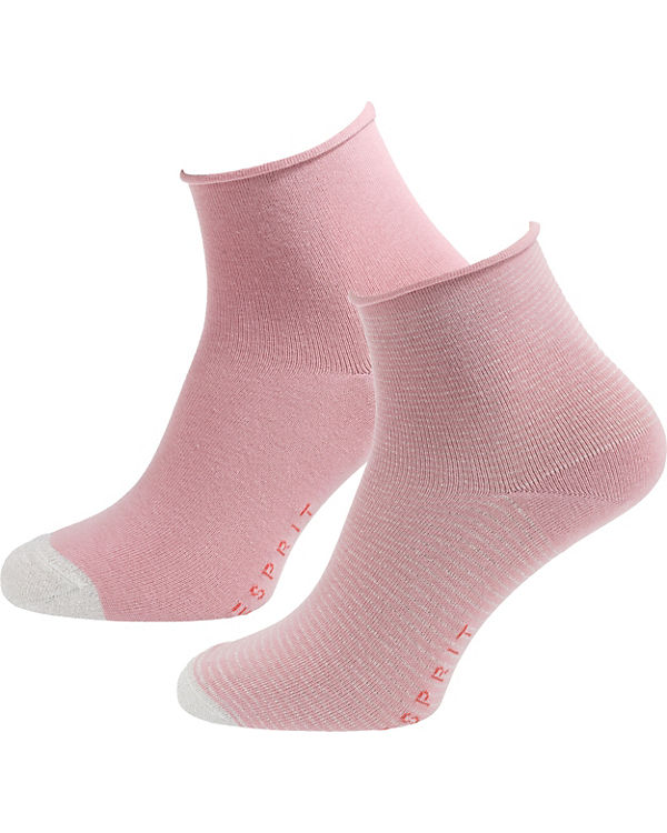 Paar Paar ESPRIT 2 2 ESPRIT Paar rosa rosa rosa ESPRIT Sneakersocken ESPRIT 2 Sneakersocken Sneakersocken 1UxZ7f