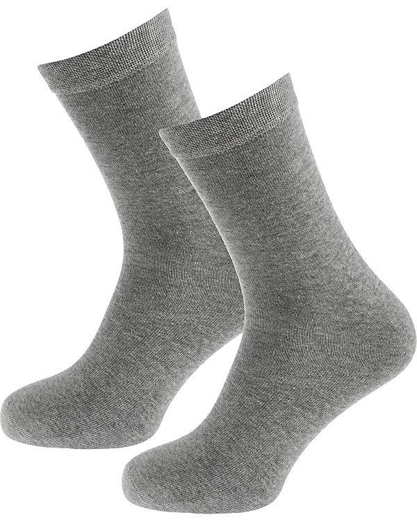 2 SCHIESSER grau SCHIESSER Socken 2 Paar wwTqY0xS