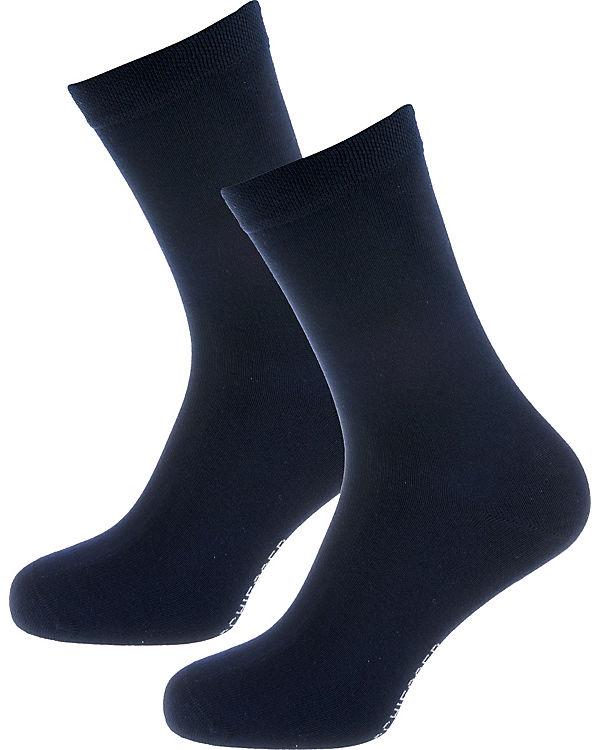 SCHIESSER 2 Paar blau Socken SCHIESSER 2 rH6wTr