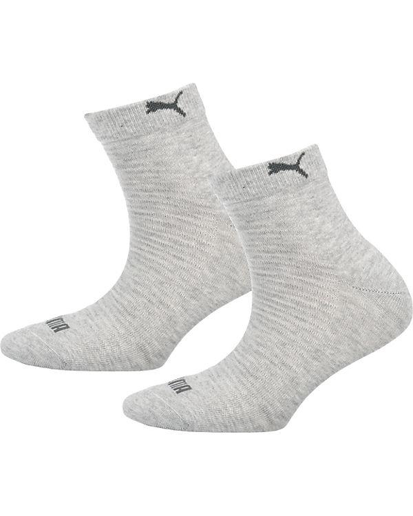 grau Kurzsocken PUMA PUMA Paar 2 Socken 7w1Oqz
