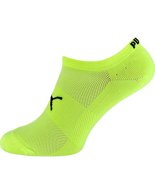 PUMA PUMA 2 Paar Sneakersocken Socken gelb-kombi