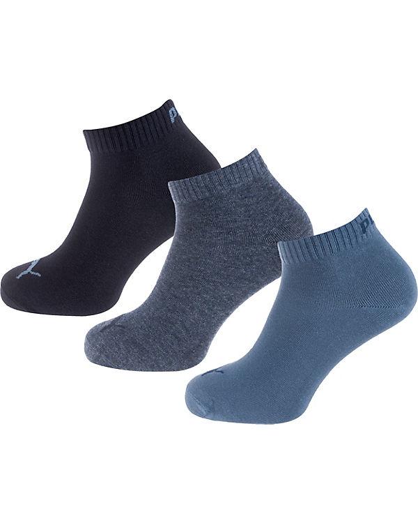 PUMA PUMA Kurzsocken Paar 3 Socken blau 0qWpAUn