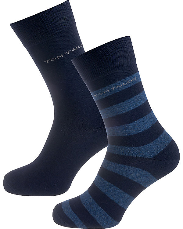 dunkelblau Socken Paar TOM TAILOR 2 0q7xWUIw