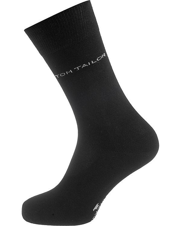 Paar TOM schwarz Socken 2 TAILOR UxEU4XYq