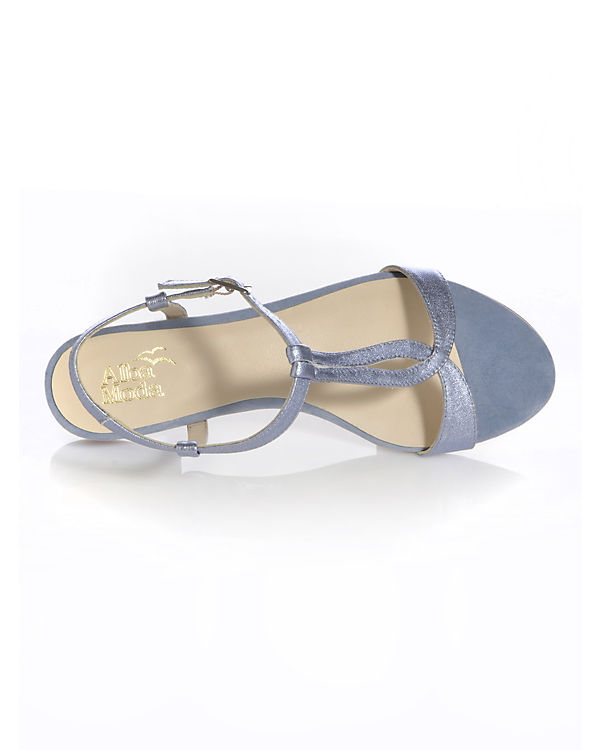 T Sandalen Moda Steg blau Alba Rw5Pgqx